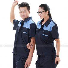 Quan ao dong phuc bao ho GLU X152 Đồng Phục Bảo Hộ Lao Động