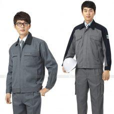 Quan ao dong phuc bao ho GLU X153 quần áo bảo hộ lao động