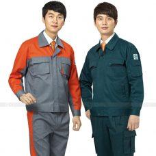 Quan ao dong phuc bao ho GLU X159 quần áo bảo hộ lao động