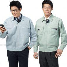 Quan ao dong phuc bao ho GLU X160 quần áo bảo hộ lao động