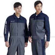 Quan ao dong phuc bao ho GLU X168 quần áo bảo hộ lao động