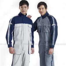 Quan ao dong phuc bao ho GLU X170 quần áo bảo hộ lao động