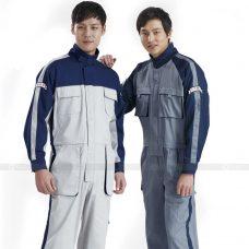 Quan ao dong phuc bao ho GLU X171 quần áo bảo hộ lao động