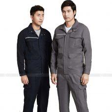 Quan ao dong phuc bao ho GLU X174 quần áo bảo hộ lao động