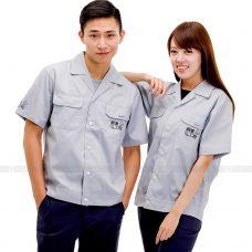 Quan ao dong phuc bao ho GLU X176 quần áo bảo hộ lao động