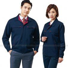 Quan ao dong phuc bao ho GLU X177 quần áo bảo hộ lao động
