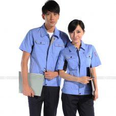 Quan ao dong phuc bao ho GLU X178 quần áo bảo hộ lao động