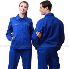 Quan ao dong phuc bao ho GLU X180 quần áo bảo hộ lao động