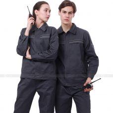 Quan ao dong phuc bao ho GLU X181 quần áo bảo hộ lao động