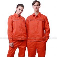 Quan ao dong phuc bao ho GLU X182 quần áo bảo hộ lao động