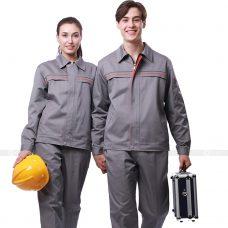 Quan ao dong phuc bao ho GLU X183 quần áo bảo hộ lao động