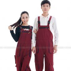 Quan ao dong phuc bao ho GLU X184 quần áo bảo hộ lao động