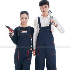 Quan ao dong phuc bao ho GLU X185 quần áo bảo hộ lao động