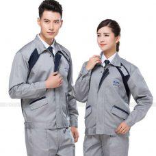 Quan ao dong phuc bao ho GLU X187 quần áo bảo hộ lao động
