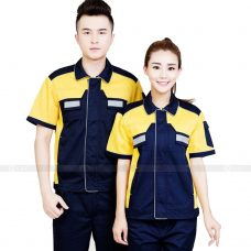Quan ao dong phuc bao ho GLU X188 quần áo bảo hộ lao động