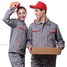 Quan ao dong phuc bao ho GLU X189 quần áo bảo hộ lao động