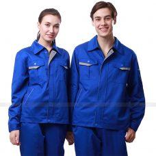 Quan ao dong phuc bao ho GLU X192 quần áo bảo hộ lao động