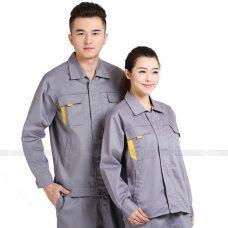 Quan ao dong phuc bao ho GLU X193 quần áo bảo hộ lao động