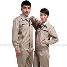 Quan ao dong phuc bao ho GLU X195 quần áo bảo hộ lao động