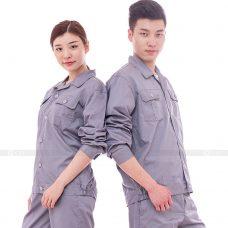 Quan ao dong phuc bao ho GLU X196 quần áo bảo hộ lao động