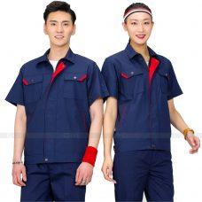 Quan ao dong phuc bao ho GLU X199 quần áo bảo hộ lao động