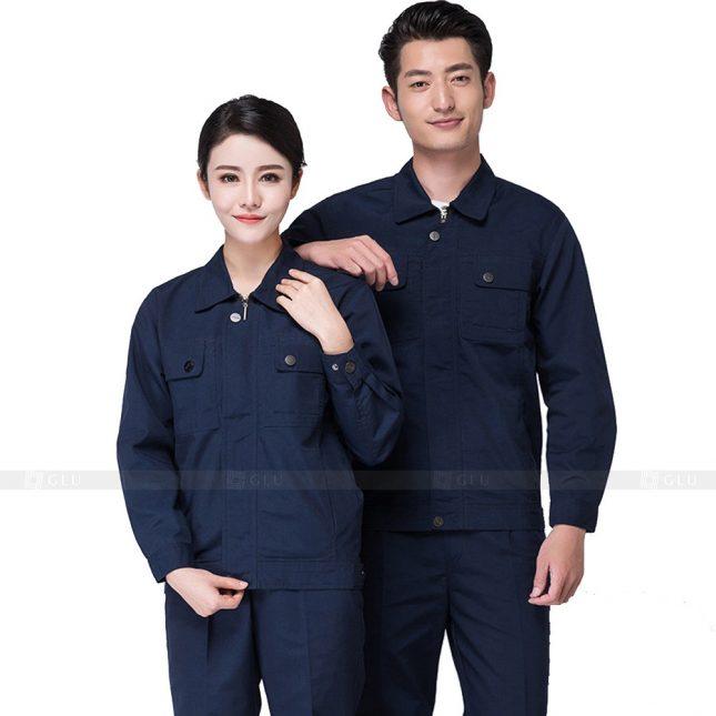 Quan ao dong phuc bao ho GLU X206 đồng phục công nhân xây dựng