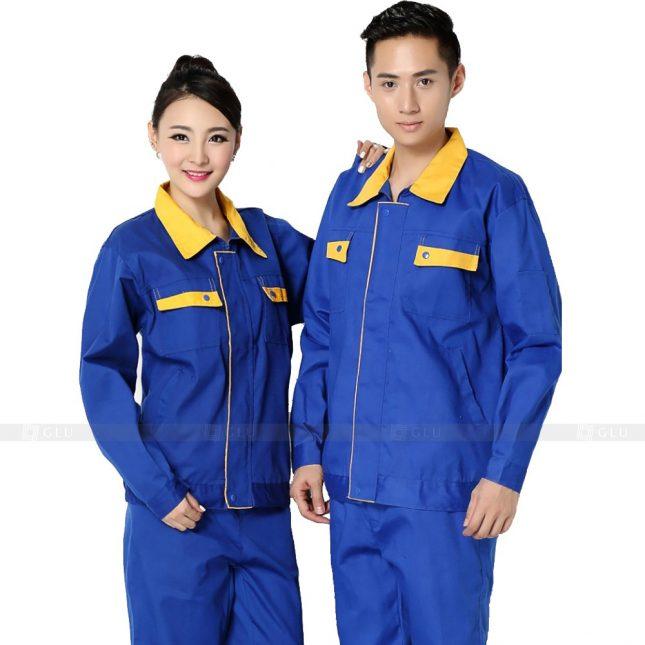 Quan ao dong phuc bao ho GLU X208 đồng phục công nhân xây dựng