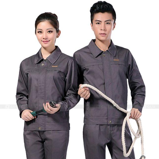 Quan ao dong phuc bao ho GLU X220 đồng phục công nhân xây dựng