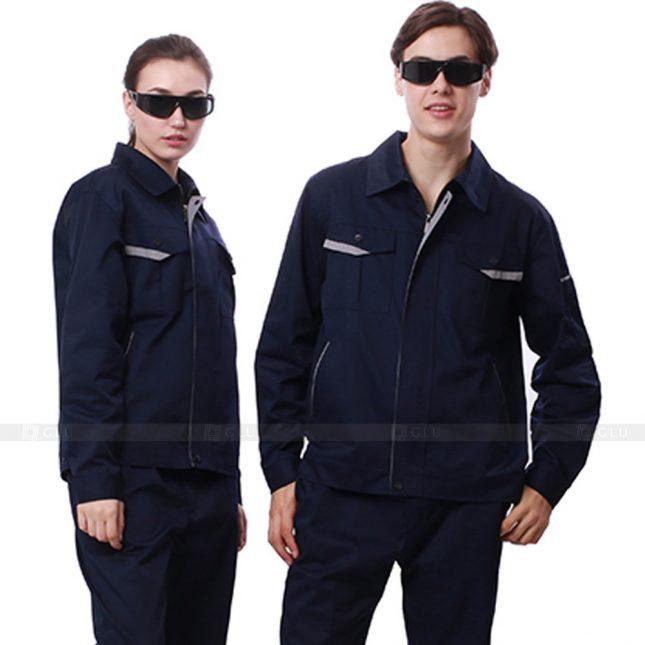 Quan ao dong phuc bao ho GLU X236 đồng phục công nhân xây dựng