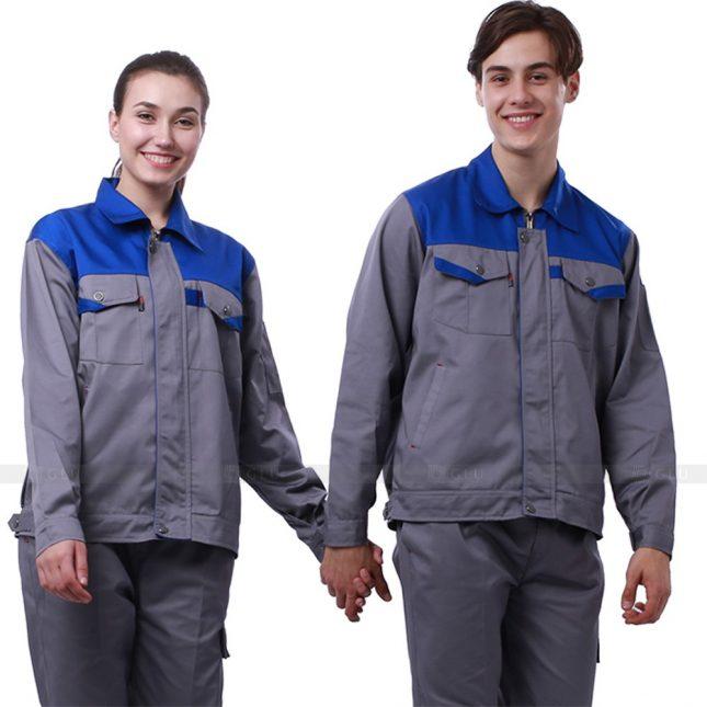 Quan ao dong phuc bao ho GLU X244 đồng phục công nhân xây dựng