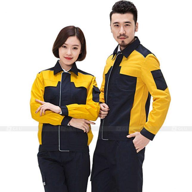 Quan ao dong phuc bao ho GLU X249 đồng phục công nhân xây dựng