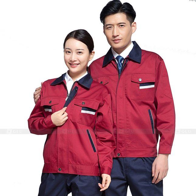 Quan ao dong phuc bao ho GLU X264 đồng phục công nhân xây dựng