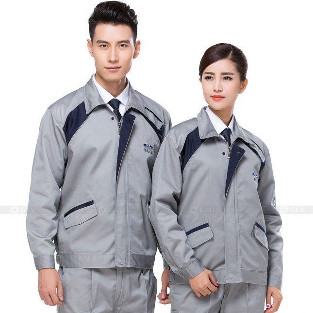 Quan ao dong phuc bao ho GLU X274 đồng phục công nhân xây dựng