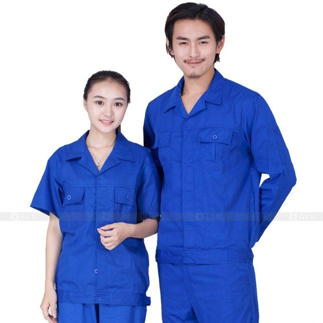 Quan ao dong phuc bao ho GLU X288 đồng phục công nhân xây dựng