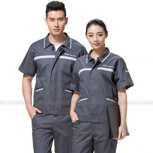 Quan ao dong phuc bao ho GLU X290 đồng phục công nhân xây dựng