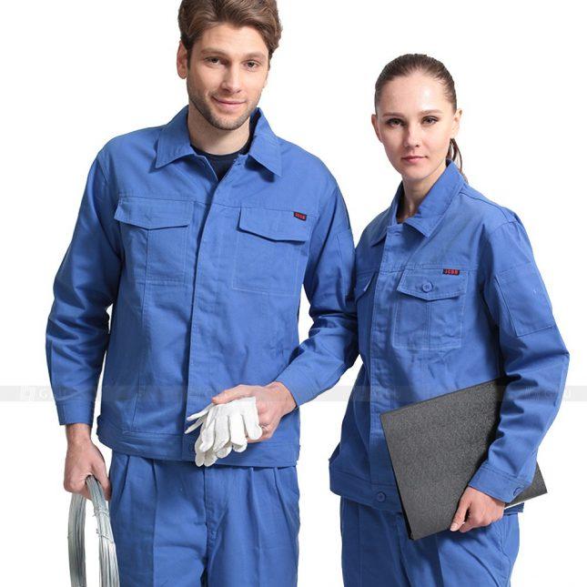 Quan ao dong phuc bao ho GLU X297 đồng phục công nhân xây dựng