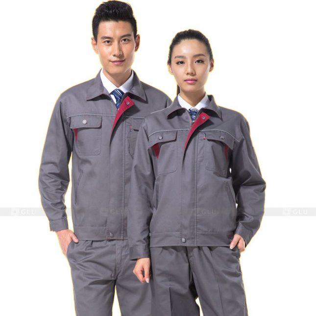 Quan ao dong phuc bao ho GLU X298 đồng phục công nhân xây dựng