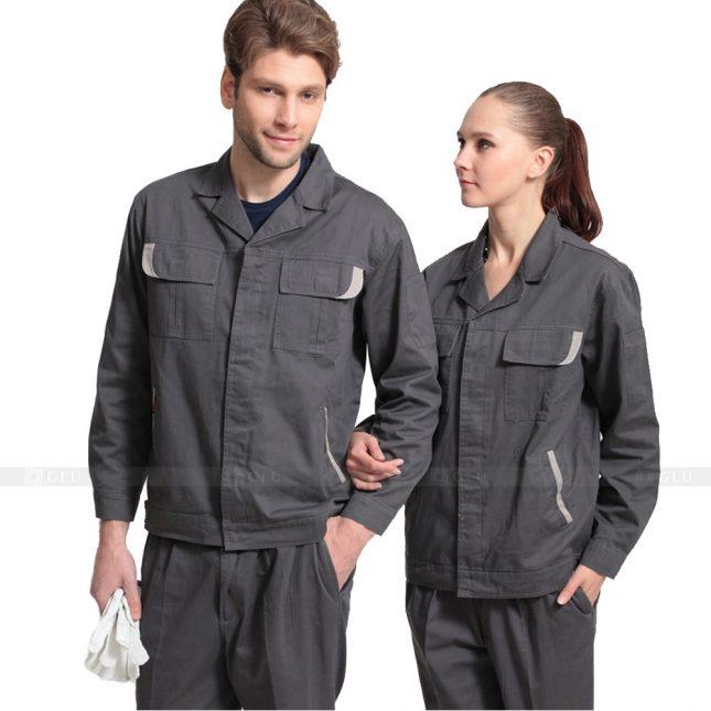 Quan ao dong phuc bao ho GLU X299 đồng phục công nhân xây dựng