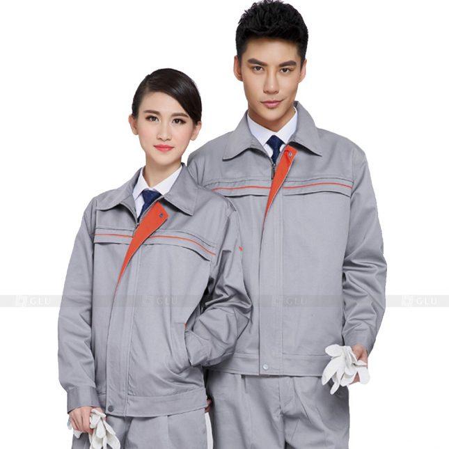 Quan ao dong phuc bao ho GLU X303 đồng phục công nhân xây dựng