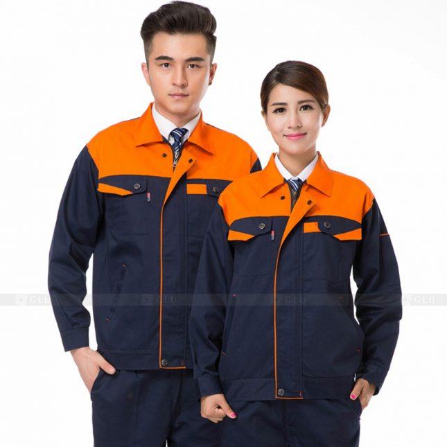Quan ao dong phuc bao ho GLU X311 đồng phục công nhân xây dựng