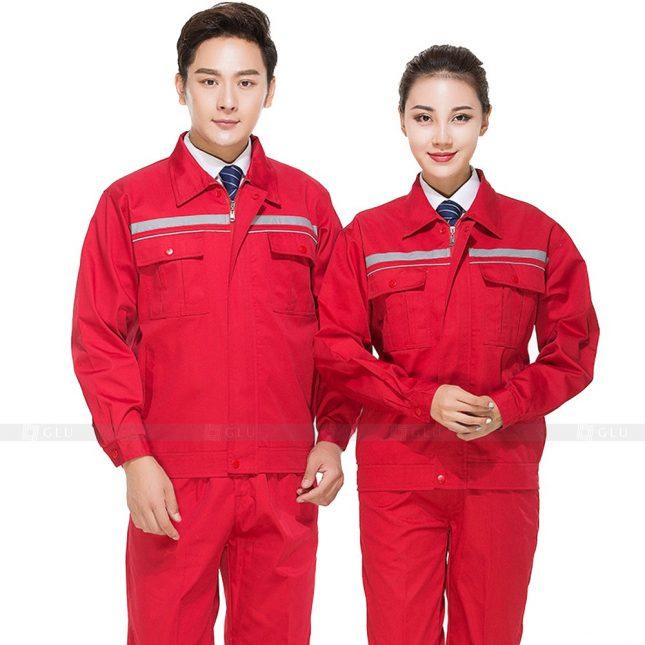 Quan ao dong phuc bao ho GLU X313 đồng phục công nhân xây dựng