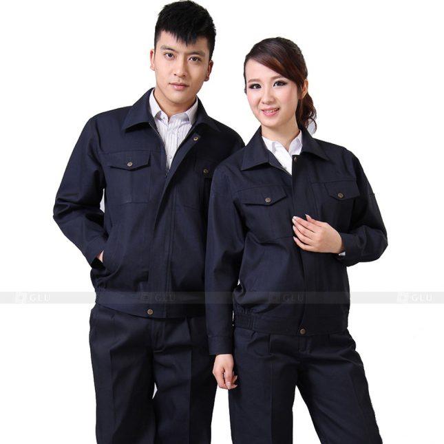 Quan ao dong phuc bao ho GLU X320 đồng phục công nhân xây dựng