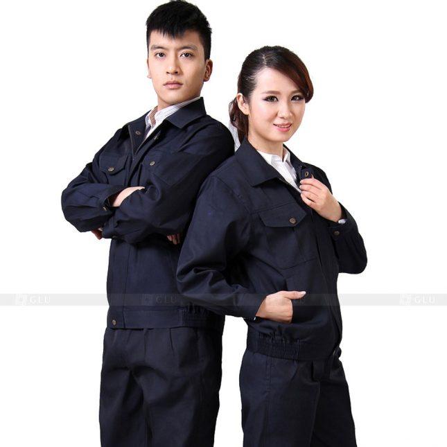 Quan ao dong phuc bao ho GLU X321 đồng phục công nhân xây dựng