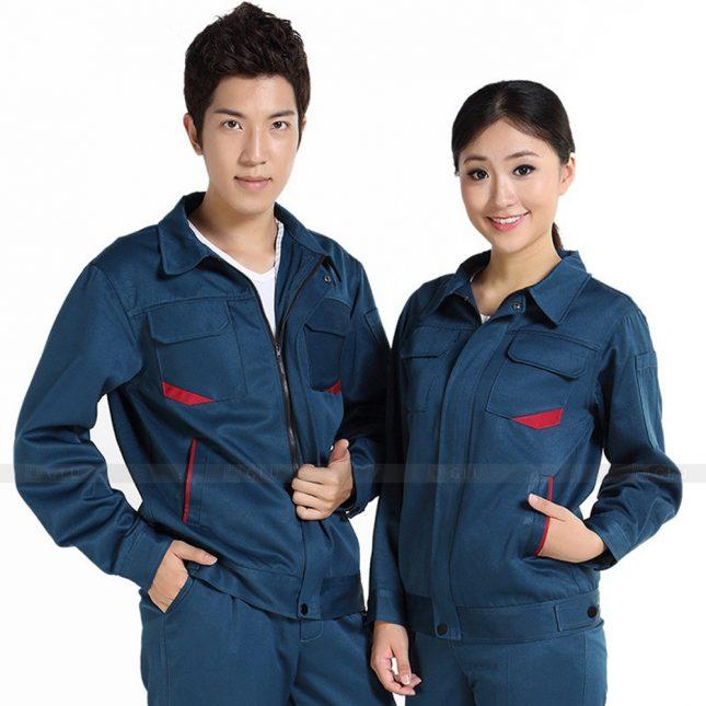 Quan ao dong phuc bao ho GLU X330 đồng phục công nhân xây dựng