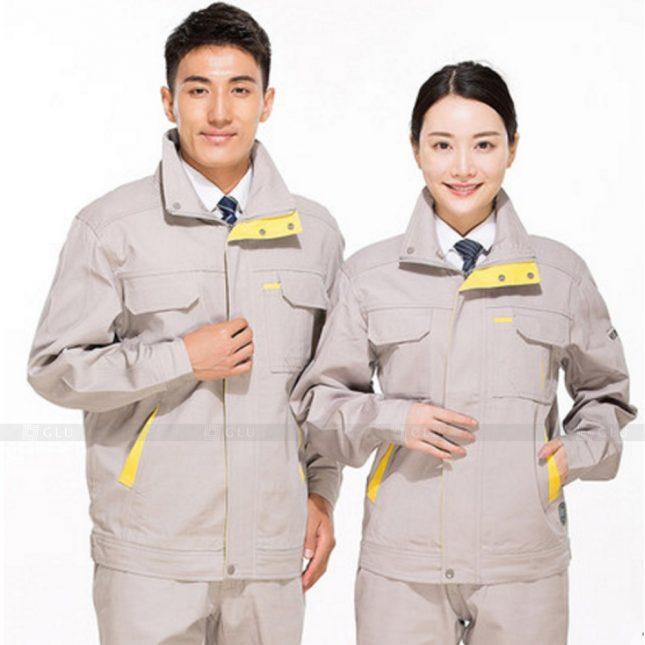 Quan ao dong phuc bao ho GLU X331 đồng phục công nhân xây dựng