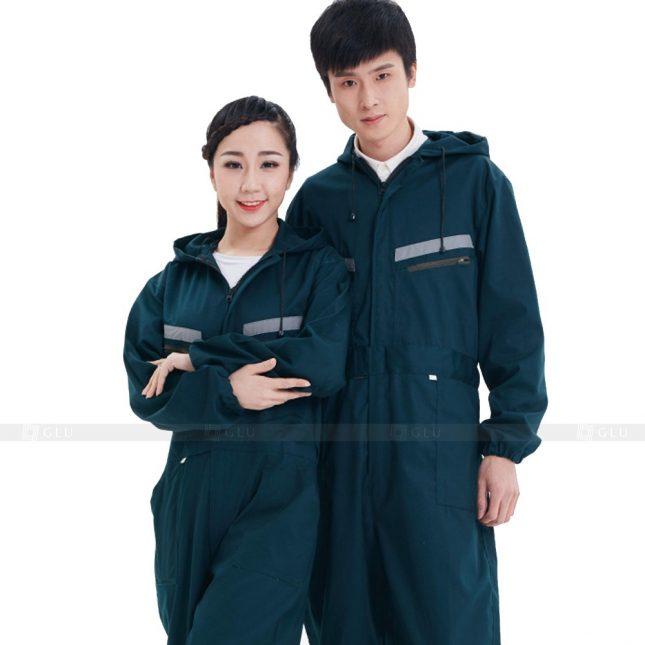 Quan ao dong phuc bao ho GLU X339 đồng phục công nhân xây dựng