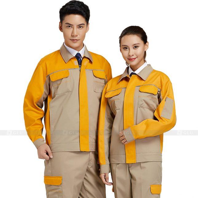 Quan ao dong phuc bao ho GLU X340 đồng phục công nhân xây dựng