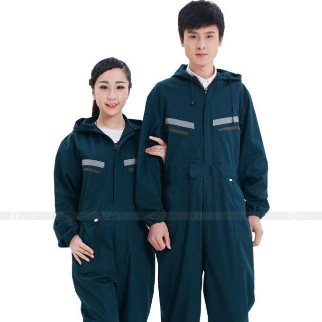 Quan ao dong phuc bao ho GLU X343 đồng phục công nhân xây dựng