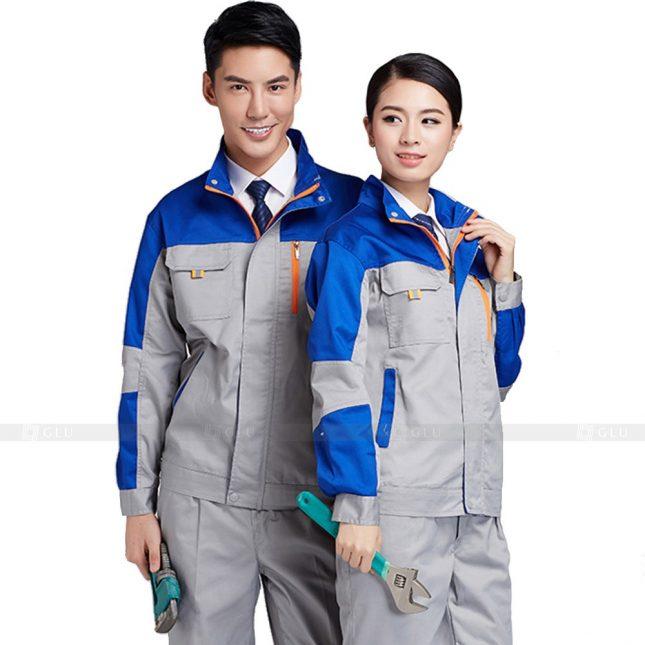 Quan ao dong phuc bao ho GLU X350 đồng phục công nhân xây dựng