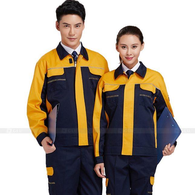 Quan ao dong phuc bao ho GLU X355 đồng phục công nhân xây dựng